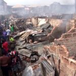 One Slumps As Fire Razes Anambra Market