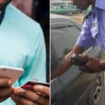 VIDEO: Drama As Man Refuses To Surrender His ATM Card To Policemen Extorting Travelers With POS