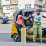 Corper Uwaoma Susan Joseph Buys Keke Napep From Her NYSC Allowance Savings (photos)