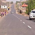 Governor Akeredolu Commissions Road In Eyitayo Jegede's Neighborhood, Shades Him (photos)