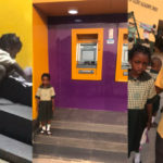 FCMB Set To Sponsor Young Girl That Was Found Using ATM Gallery Light To Do Her Homework (photos)