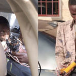 "Video: ""My Name Is Nathaniel Samuel"" – Suspected Suicide Bomber Caught In Kaduna Church Insists"