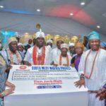 PHOTOS: Ooni Adeyeye Enitan Ogunwusi Hosts Rev. Father Mbaka and Other Nigerian Rulers