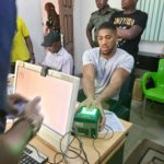 PHOTOS: Nigerians Lament As Anthony Joshua Storms Nigeria, Gets 'Special Treat' For National ID