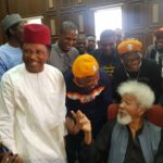 Wole Soyinka, Shehu Sani, Deji Adeyanju, Arrives Court In Solidarity With Sowore (video & photos)