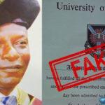 Ex-polytechnic, Igbajo Rector, Mr. Olaolu Akinola Olugbenga Arraigned For Fake Ph.D Certificate