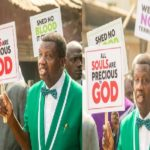 PHOTOS & VIDEO: We say no to terrorism in Nigeria — Adeboye protest