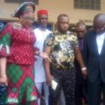 PHOTOS: Governor Obiano's Wife Visits Actor Ernest Asuzu After He Was Seen Begging