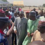 30 Killed: Video Of Buhari In Maiduguri To Sympathize With Boko Haram Victims