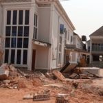 Gov Obaseki fights dirty,   demolishes Kabaka's hotel, loyalist of Oshiomhole (PHOTOS)