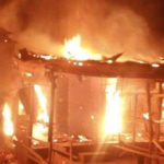 Fire Guts Imo INEC Office Weeks After Supreme Court Sacked Ihedioha