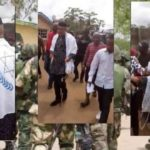 Nigerian Soldiers Block Entrance To Nnamdi Kanu's Residence Ahead Of his Parent Burial