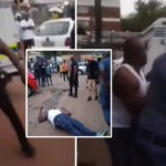 VIDEO & PHOTOS: Nigerian Man Stone Relative To Death In South Africa Over Failed Business Transaction