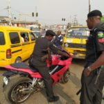 Okada Ban: Crowd Disgrace Police Officers After Seizing Power Bike In Lagos