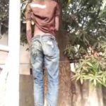 Man Commits Suicide By Hanging As Girlfriend He Trained In School Dumps Him (Graphic Photos)