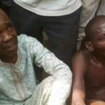 Two Men Who Attempted To Snatch Baby From Mother's Back Meet Their Waterloo in Ondo (Photos)