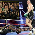 Tyson Fury Knocks Out Deontay Wilder To Become WBC Heavyweight Champion (Photos & Video)
