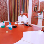 Buhari, Senate President, Speaker in closed-door meeting