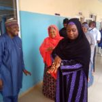 PHOTOS: Amina Abubakar Bello Inspects Niger Disease Isolation Center, Okays Facility