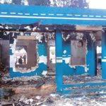 Okada Riders Burn Minna FRSC Office Over Rumoured Death Of Motorcyclist