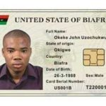 BREAKING: Biafra National ID Card In Circulation (Photos)