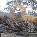 Lagos Taskforce Demolishes Illegal Structures At Mile 2 (PHOTOS)