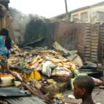 Fire razes 23 shops in Kwara market (PHOTOS)