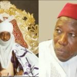 Ganduje/Sanusi Feud: Kano Lawmakers 'Fight' Over Mace, Disrupt Sitting