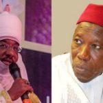 Breaking: Emir of Kano, Sanusi dethroned by Gov Ganduje