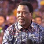 Nigerians Misunderstood My March 27 Prophecy On Coronavirus – Prophet TB Joshua Cries Out