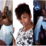 PHOTOS & VIDEO: Married Woman Caught In Bed With A Man She Brought Into Her Matrimonial Home