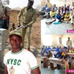PHOTOS: Corper Omaka Samuel Dike Executes 5 Community Projects Within 5 Months