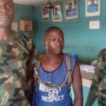 Meet three fake soldiers arrested in Ogun