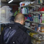 Customs raid night shops, all but one breaking the law