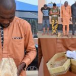PHOTOS: EFCC arrests suspected Internet Fraudsters with mini Coffin