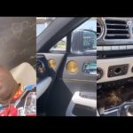 Mompha Flaunts His Rolls Royce Wraith Eagle VIII Bespoke 2020 Worth N150m (Photos & Video)