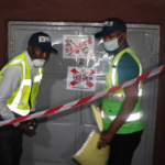 Jumia Warehouse, Chinese Firm And Hotel Sealed For Defying Lock Down Order In Lagos (PHOTOS)
