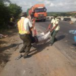 Two die, six injured in Lagos-Ibadan Expressway accident amid lockdown (PHOTOS)