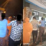 Lockdown: Lagos Police officers rush pregnant woman in labour to hospital at 3 AM (Photos)