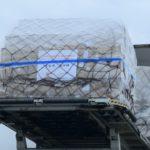 Coronavirus: hundreds of ventilators arrive in Belgium