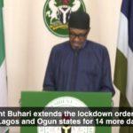 Coronavirus: Details Of Quarantine Order Buhari Signed To Extend Lockdown