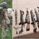 Excitement as Nigerian Army kills 105 Boko Haram terrorists, recover weapons (graphic photos)