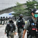 Riot police take zero tolerance approach to Hong Kong protests as tensions build