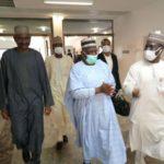 Breaking: President Buhari's CoS, Ibrahim Gambari Arrives Presidential Villa