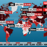 COVID-19 deaths top 250,000 worldwide