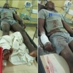 Nigerian Lady Seeks For Justice For Her Cousin Who Suffered Gunshot Injury After He Was Allegedly Attacked By SARS Officials In Abuja