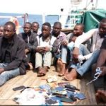 Photos Of Pirates Apprehended As Nigerian Navy Hijacks Chinese Vessel