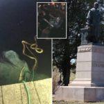 Virginia protesters topple Columbus statue