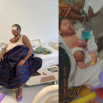 PHOTOS: Nigerian woman gang-raped in Ghana loses her newborn baby conceived from the rape incident