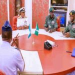 President Buhari, Service Chiefs In Closed-Door Meeting